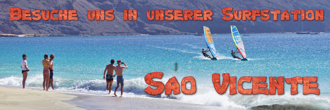 Kapverden Sao Vicente Windsurfen