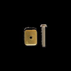 Schraube US Finne M4x25  (Set)
