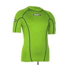 ION Rashguard Men Promo SS lime green