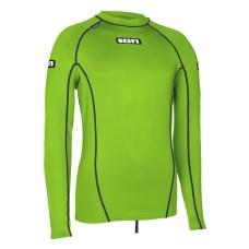ION Rashguard Men Promo LS lime green