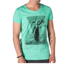 Mystic T-shirt Blind Judge green