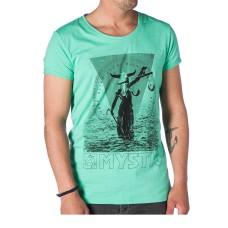 Mystic T-shirt Blind Judge green