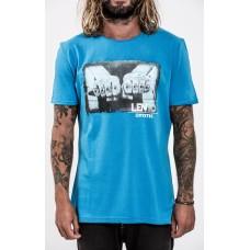 Mystic T-shirt Len 10 cloud blue
