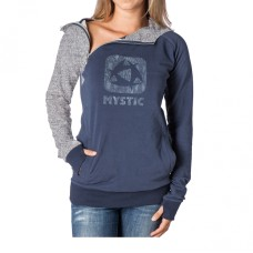 Mystic Hooded Zip Sweat Squeez blau